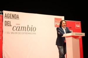 Juan Carlos Castillo , candidato a la alcaldía por Azuaga