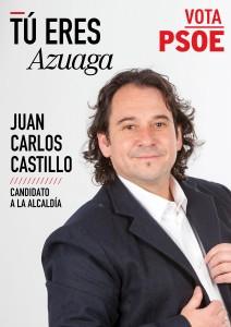 cartel AZUAGA
