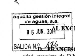 6 de junio de 2014, documento no puesto a la disposición en su día