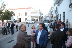 Siete de la tarde, Guillermo llega a Azuaga